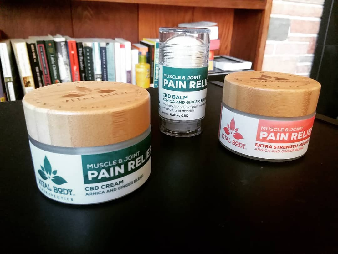 Can CBD Cream (Salve) be Used For Pain Relief